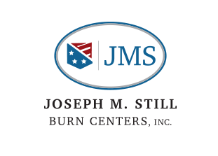 Logo JMS Burn Center | Safe Homes