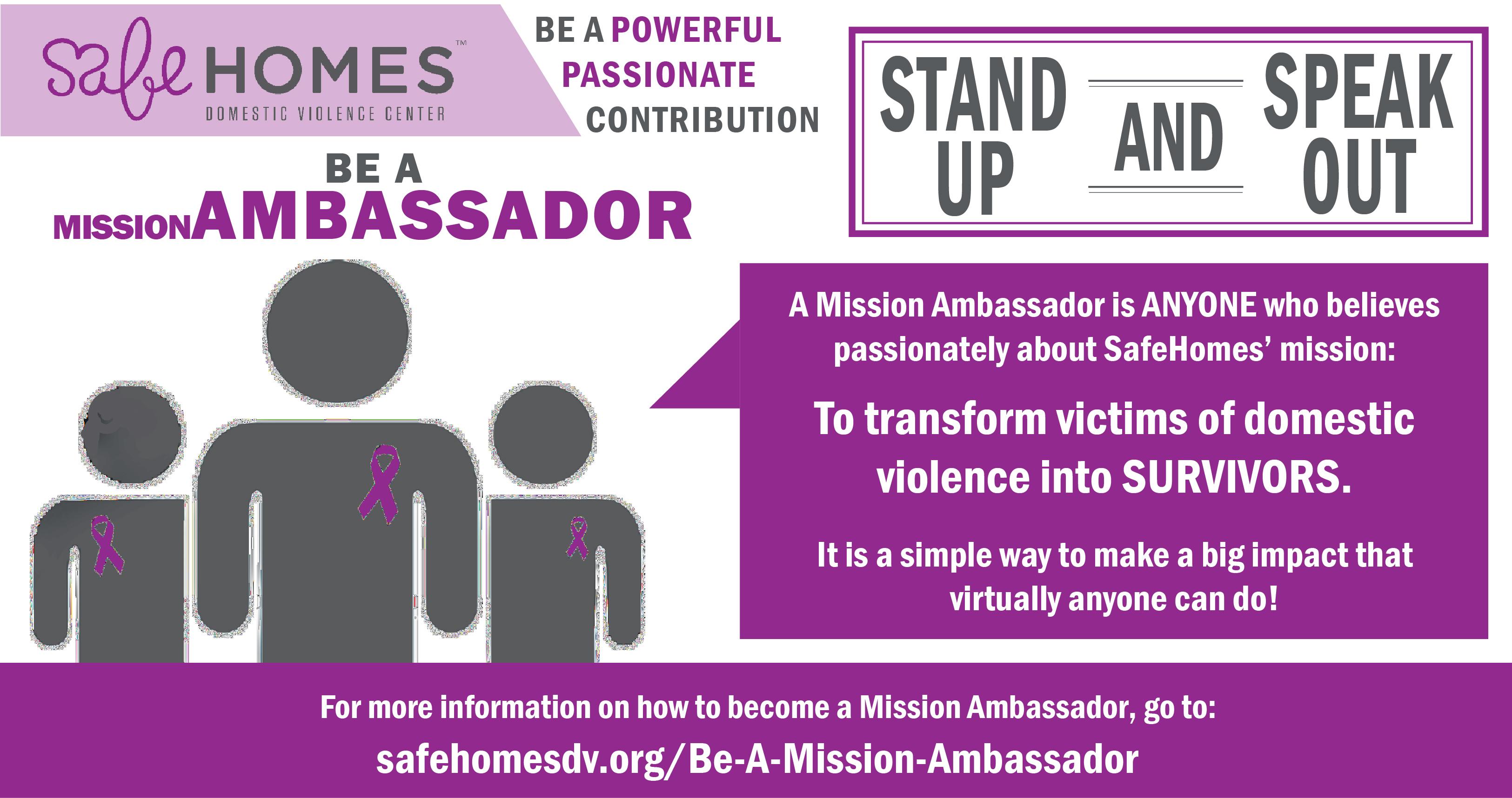 missionambassador | Safe Homes